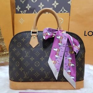💯%authentic Louis Vuitton Alma Pm